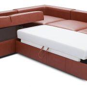 Biblio Caya Design Warszawa Studio Komfort narożnik funkcja spania