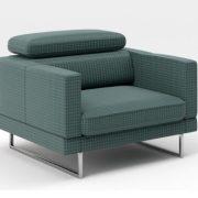 Bruno Caya Design Warszawa Studio Komfort fotel