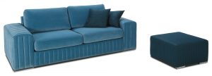 Glamour sofa puf Caya Design Warszawa Studio Komfort
