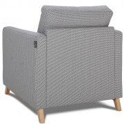 Yoko Caya Design Warszawa Studio Komfort fotel tył