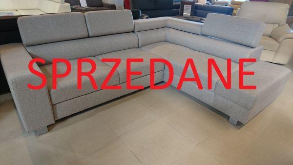 Narożnik ENZO Caya Design Warszawa Studio Komfort zagłówki SPRZEDANE