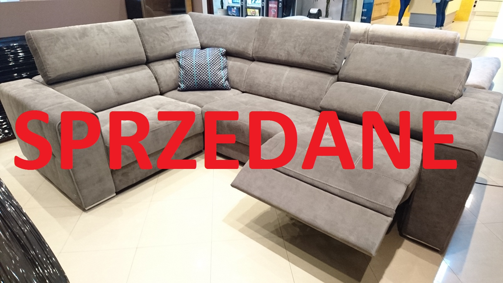 Quartz z relaksem Emmohl Warszaw Studio Komfort narożnik relaks SPRZEDANE