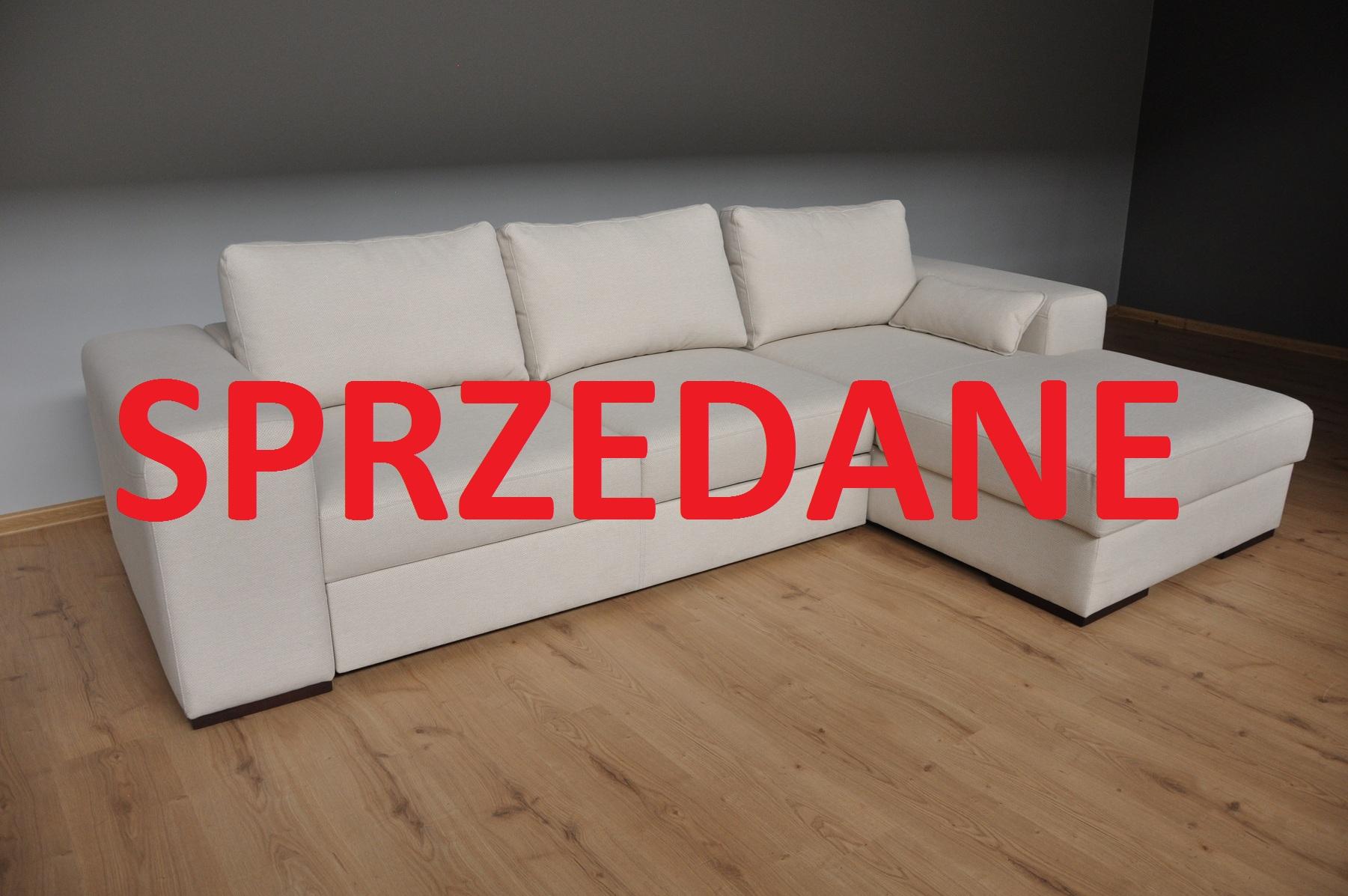 CCASTELLO Caya Design Warszawa Studio Komfort narożnik z funkcją spania i pojemnikiem SPRZEDANE