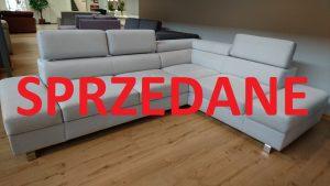 ENZO Caya Design Warszawa Studio Komfort Narożnik otwarty Tkanina NOVELL 10 FARGOTEX zagłówki SPRZEDANE