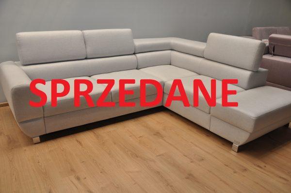 Emporio Caya Design Warszawa narożnik z funkcją spania i pojemnikami tkanina MAGIC HOME LINEA 09 SPRZEDANE