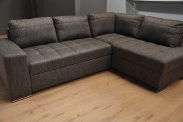 FIGARO Caya Design Warszawa Studio Komfort Narożnik z funkcją spania i pojemnikiem tkanina FALCO 03 Fargotex