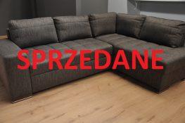 FIGARO Caya Design Warszawa Studio Komfort Narożnik z funkcją spania i pojemnikiem tkanina FALCO 03 Fargotex SPRZEDANE