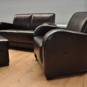 Ibiza Caya Design Warszawa Studio Komfort Ibiza Outlet Caya Design Bycast Dark Brown fotel