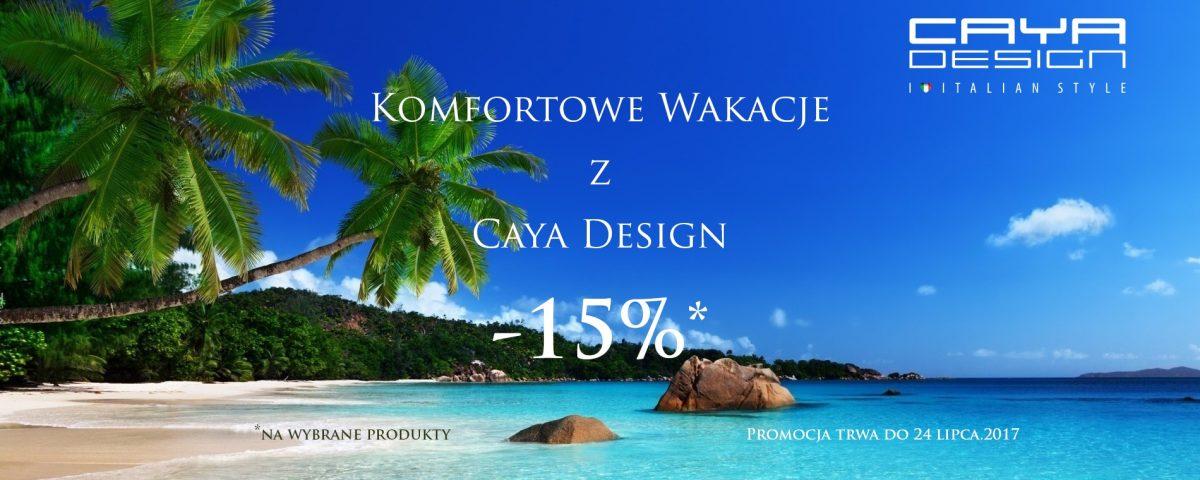 Promocja Caya Design Warszawa