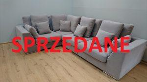 LEONARDO Caya Design Warszawa Studio Komfort narożnik modułowy tkanina AQUACLEAN MYSTIC 112 2 SPRZEDANE