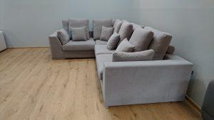 LEONARDO Caya Design Warszawa Studio Komfort narożnik modułowy tkanina AQUACLEAN MYSTIC 112 profil