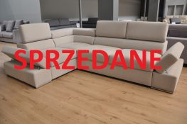 Lorenzo Caya Design Warszawa Narożnik z funkcją spania i pojemnikiem tkanina MAGIC HOME PENTA SPRZEDANE