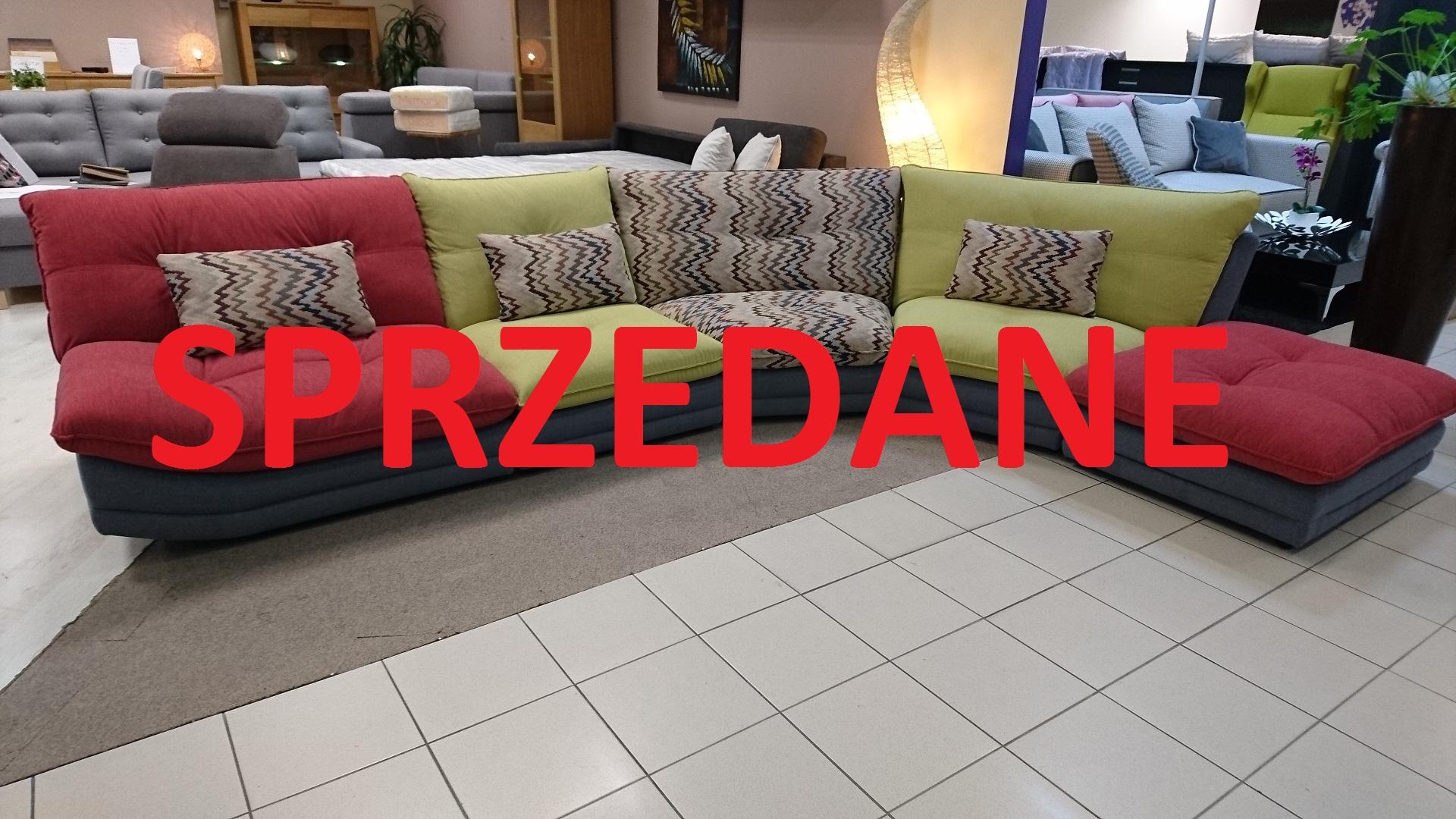 DOMINO CAYA DESIGN Warszawa Studio Komfort Narożnik modułowy tkanina PERSEMPRA ITALVELLUTI SPRZEDANE