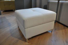 JOPP Caya Design Warszawa Studio Komfort puf z pojemnikiem EKO-Skóra Biała VIENNA 1 od FARGOTEX