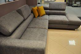 EMPORIO CAYA DESIGN Warszawa Studio Komfort narożnik z funkcją spania i pojemnik tkanina SIGMA 11 FARGOTEX Magic Home profil