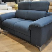 SHADOW EMMOHL Warszawa Studio Komfort Sofa 3 z funkcją relaks i sofa 2 Tkanina RIVOLI 47 sofa2