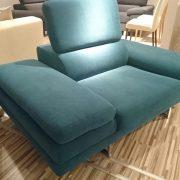 BRUNO fotel CAYA DESIGN Warszawa Studio Komfort Tkanina MYSTIC 37 AQUACLEAN