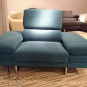 BRUNO fotel CAYA DESIGN Warszawa Studio Komfort Tkanina MYSTIC 37 AQUACLEAN front
