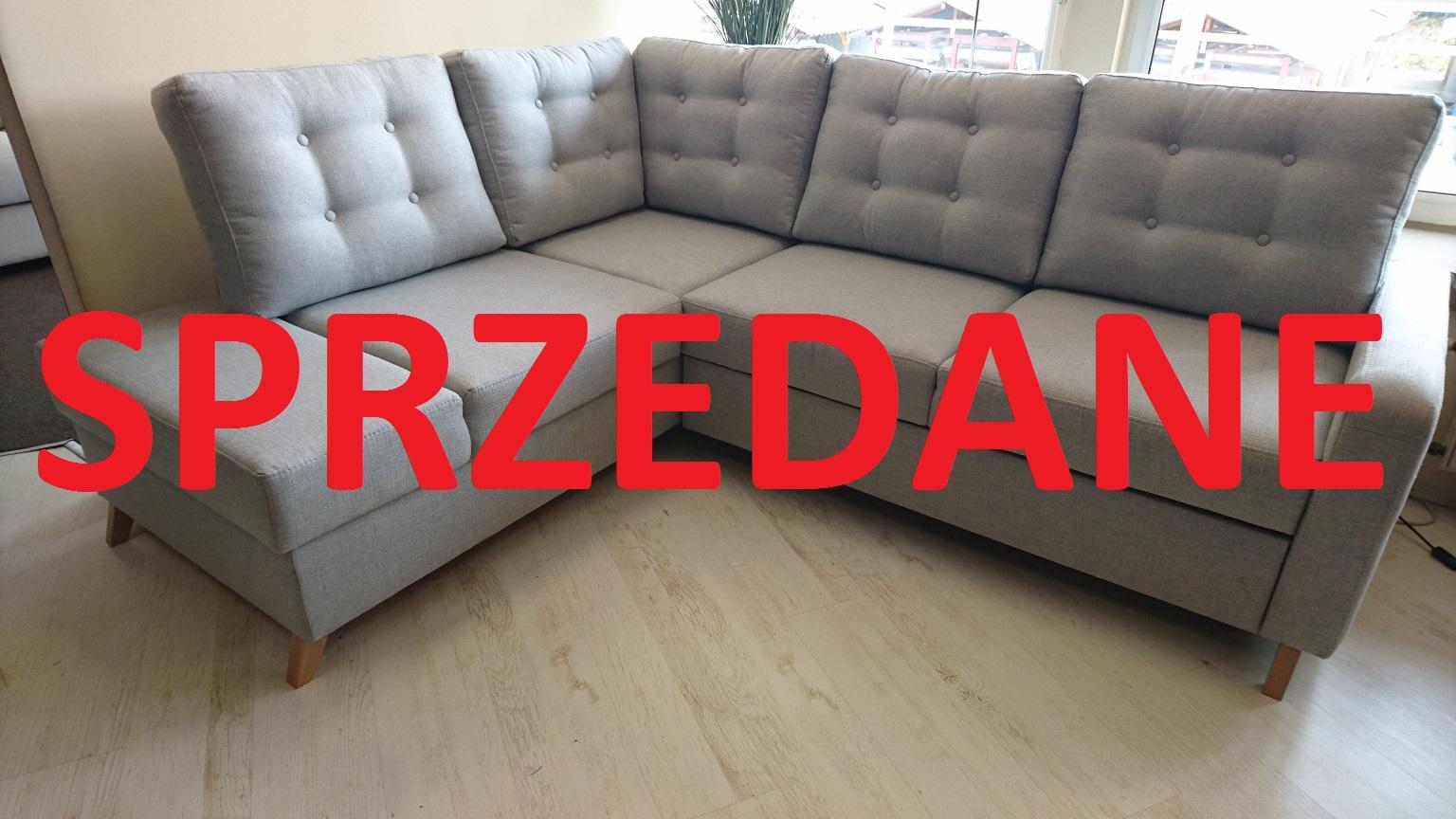 BOSCO Z REKAMIERĄ CAYA DESIGN WARSZAWA Studio Komfort narożnik z funkcją spania i pojemnikiem LINEA 10 FARGOTEX SPRZEDANE