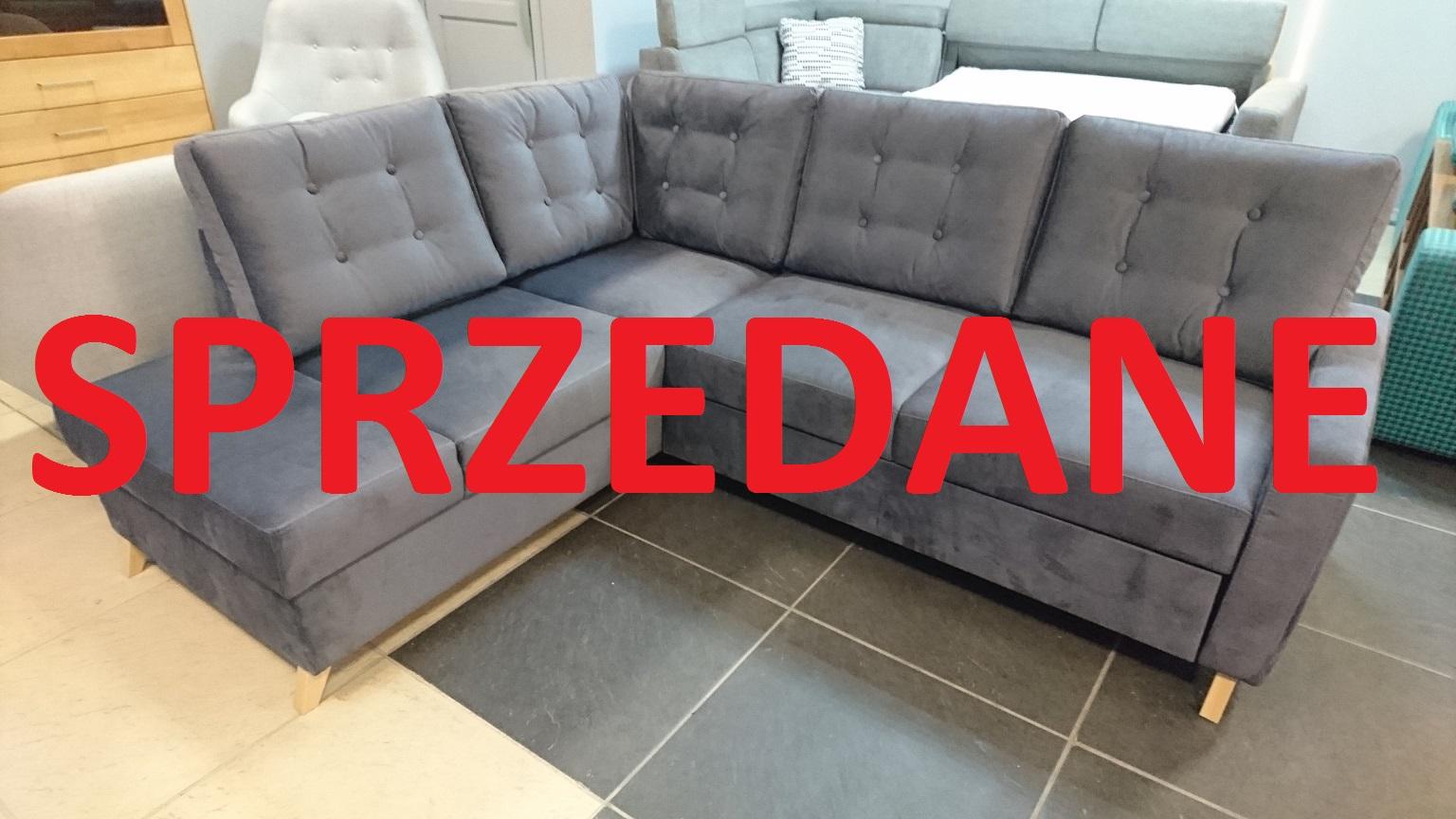 BOSCO Z REKAMIERĄ Caya Design WARSZAWA Studio Komfort funkcja spania pojemniki ASPEN 07 hydrofobowa FARGOTEX sprzedane