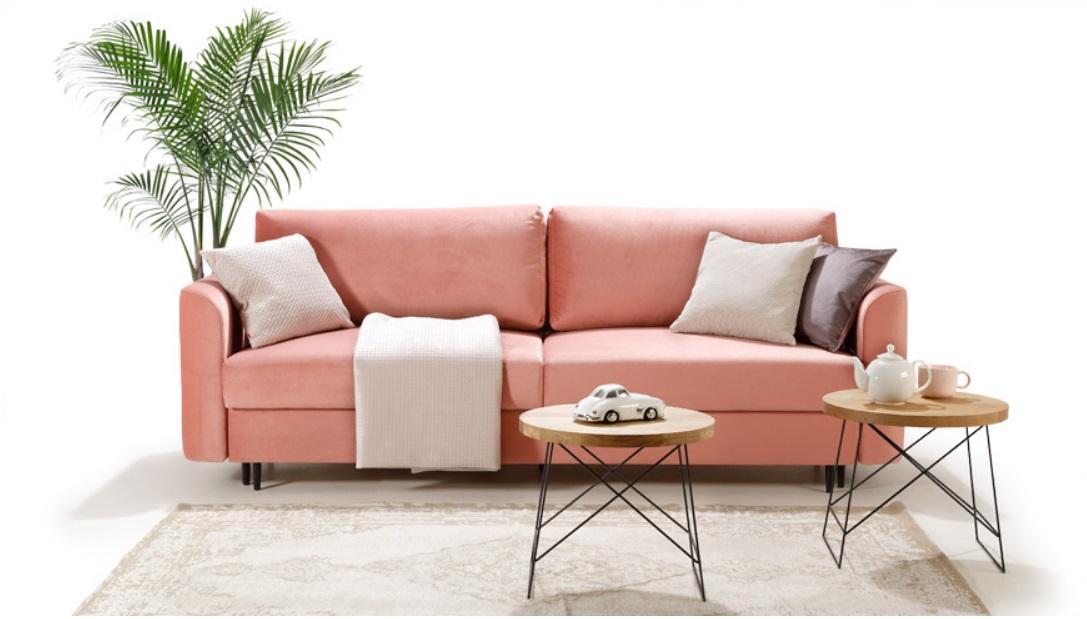 ALTO Caya Design Warszawa STUDIO KOMFORT sofa z funkcja spania i pojemnikiem Aranżacja