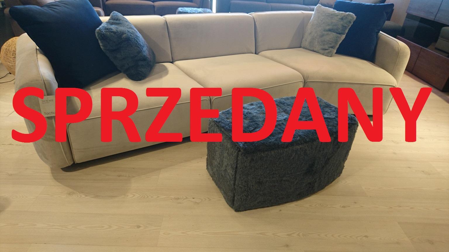 TACTIC EMMOHL Warszawa Meble STUDIO KOMFORT sofa narożna tkanina welur beż DOLCE 10 SPRZEDANE