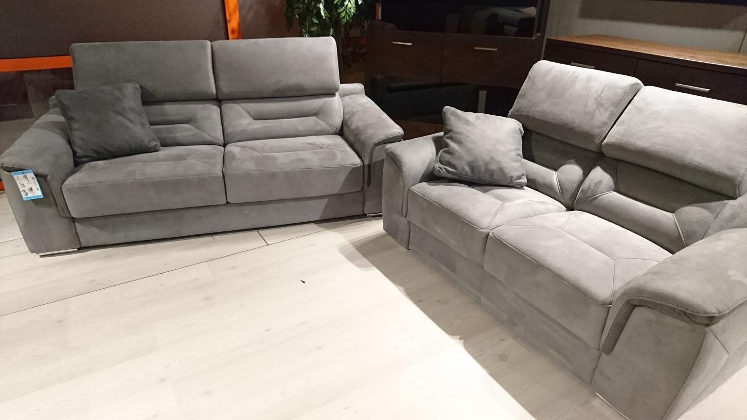BEAUMONT EMMOHL Warszawa Meble STUDIO KOMFORT sofa 3 rozkładana z funkcją spania + sofa 2 tkanina DAKOTA 6