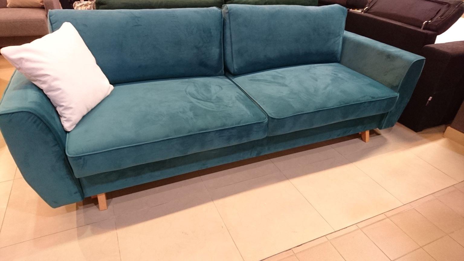 HUGO Caya Design Warszawa STUDIO KOMFORT sofa rozkładana z funkcją spania i pojemnikiem PROMOCJA Caya Design